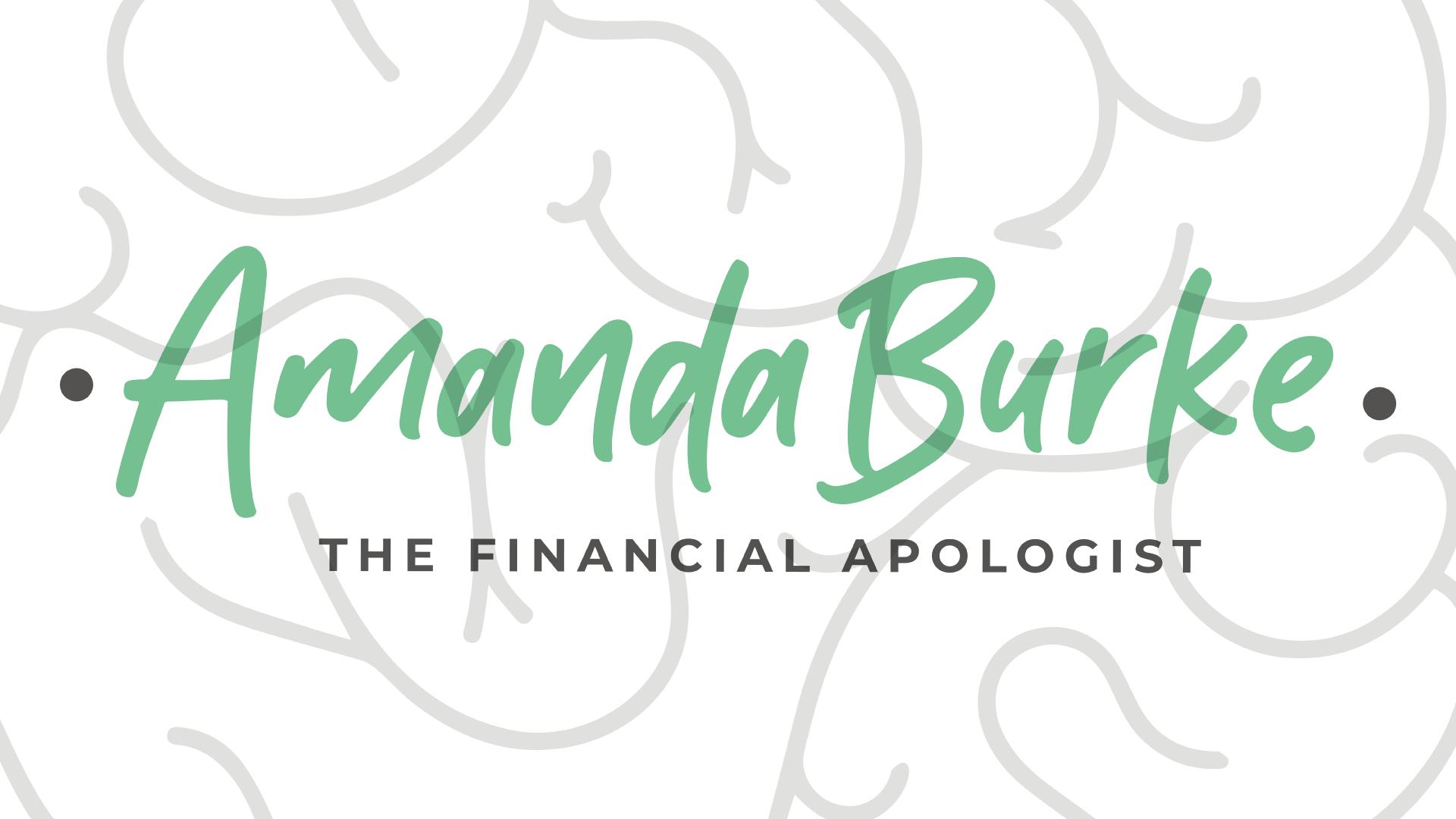 Title: Amanda Burke the Financial Apologist