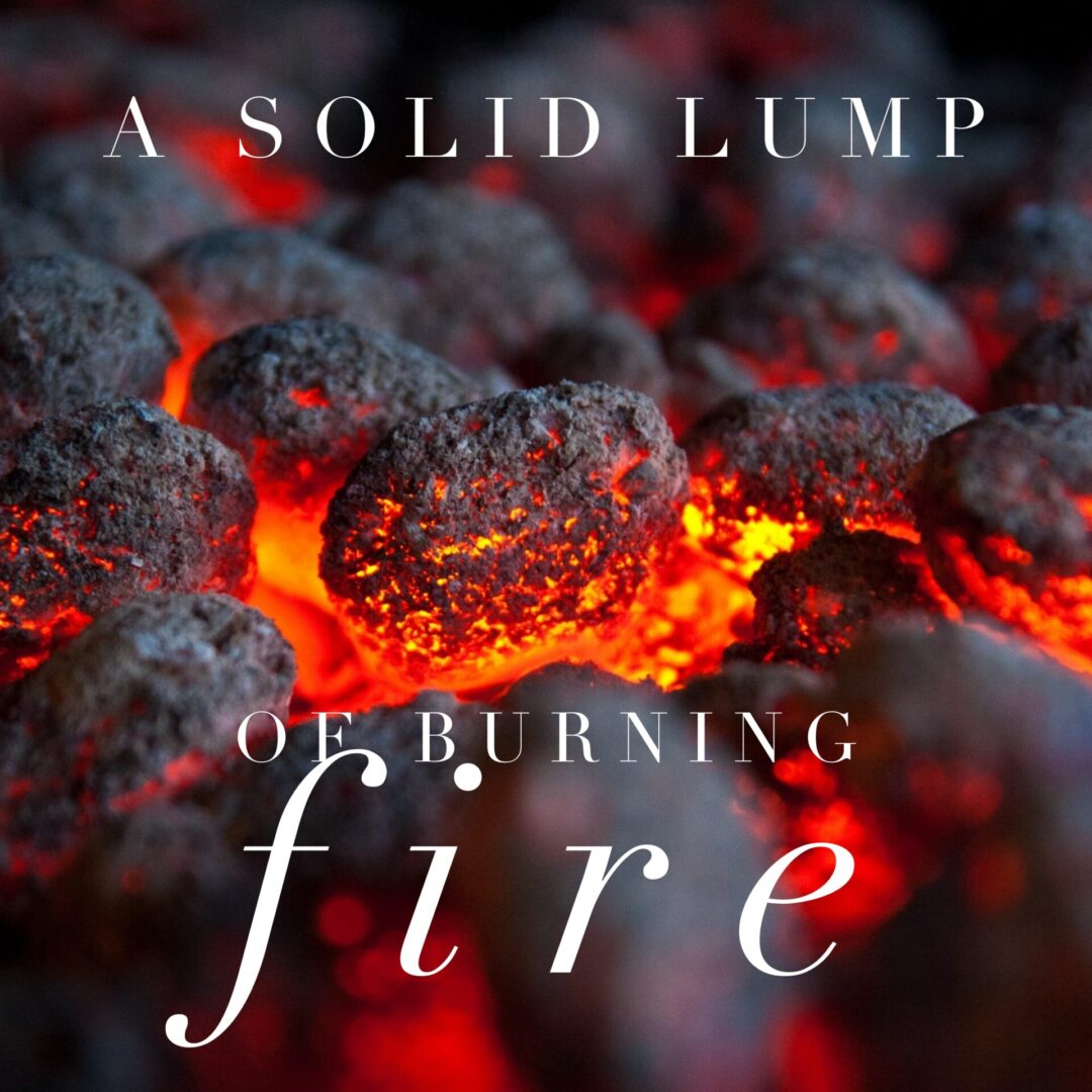 A Solid Lump of Burning Fire blog cover art
