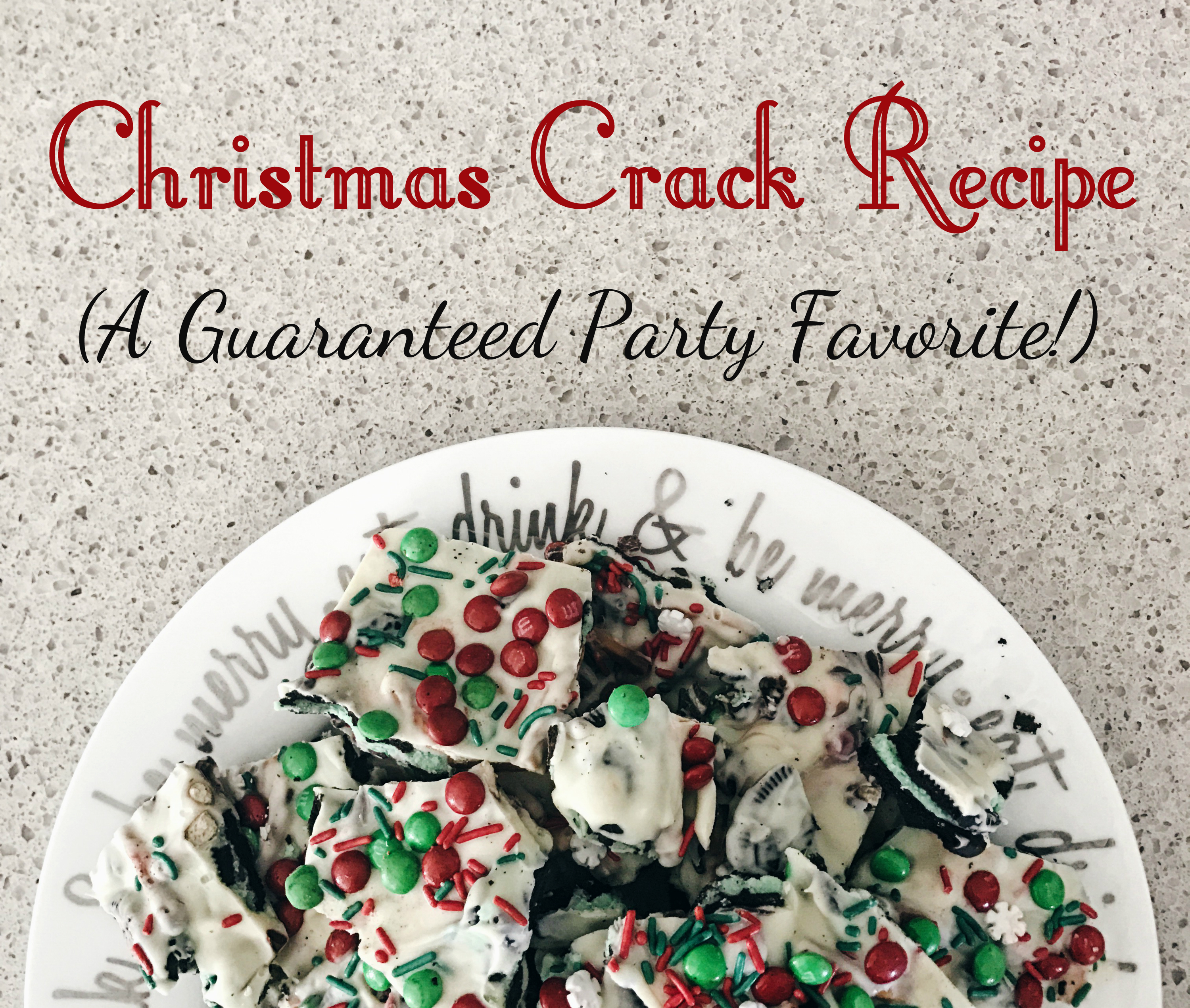 Christmas appetizer recipe white chocolate christmas crunch