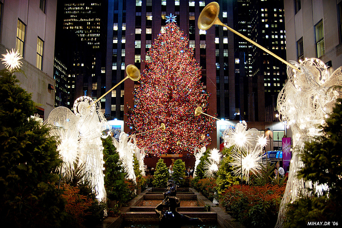 rockefeller center christmas, new york during christmas, top christmas cities us, best christmas cities in the united states
