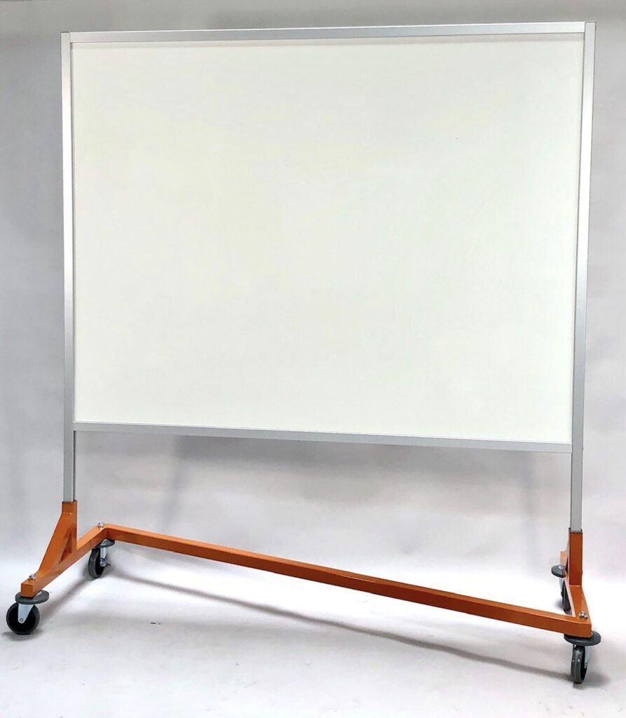 Solid Plexiglass Barrier