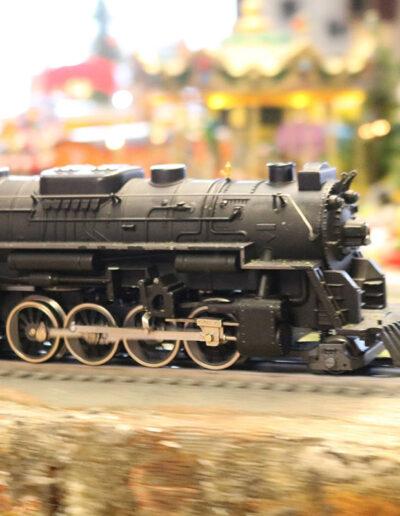 model railroad train