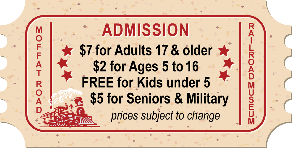 Admission: $7 for Adults 17 & older; $2 for Ages 5 to 16; FREE for Kids under 5; $5 for Seniors & Military