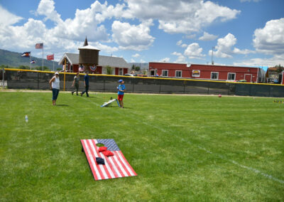 Kids games at the 2021 Community Cookout