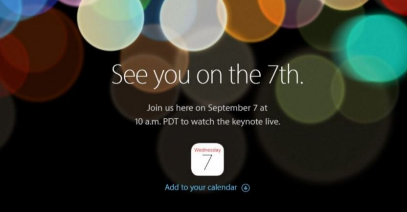 Apple iPhone 7 release official; Sept 7 event could include iPad, Watch