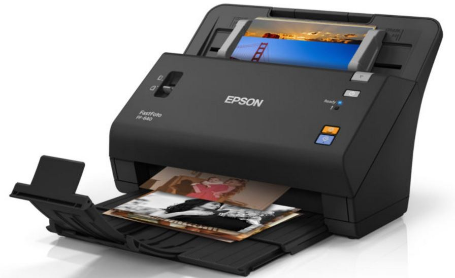 Epson FastFoto FF-640 review: The perfect accessory for restoring old photos