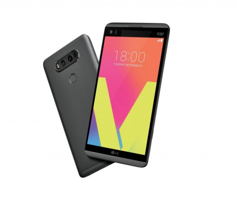 LG's new V20 is a multimedia powerhouse: Dual display, 3 cameras & metal back