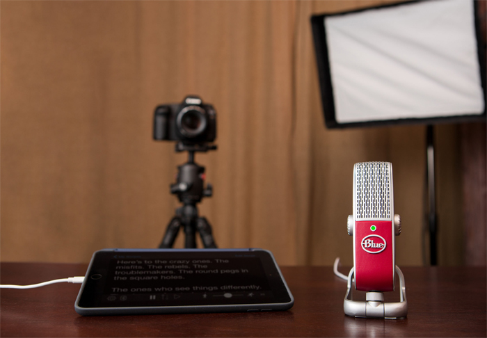 Blue Raspberry: This portable microphone makes voice recording a breeze