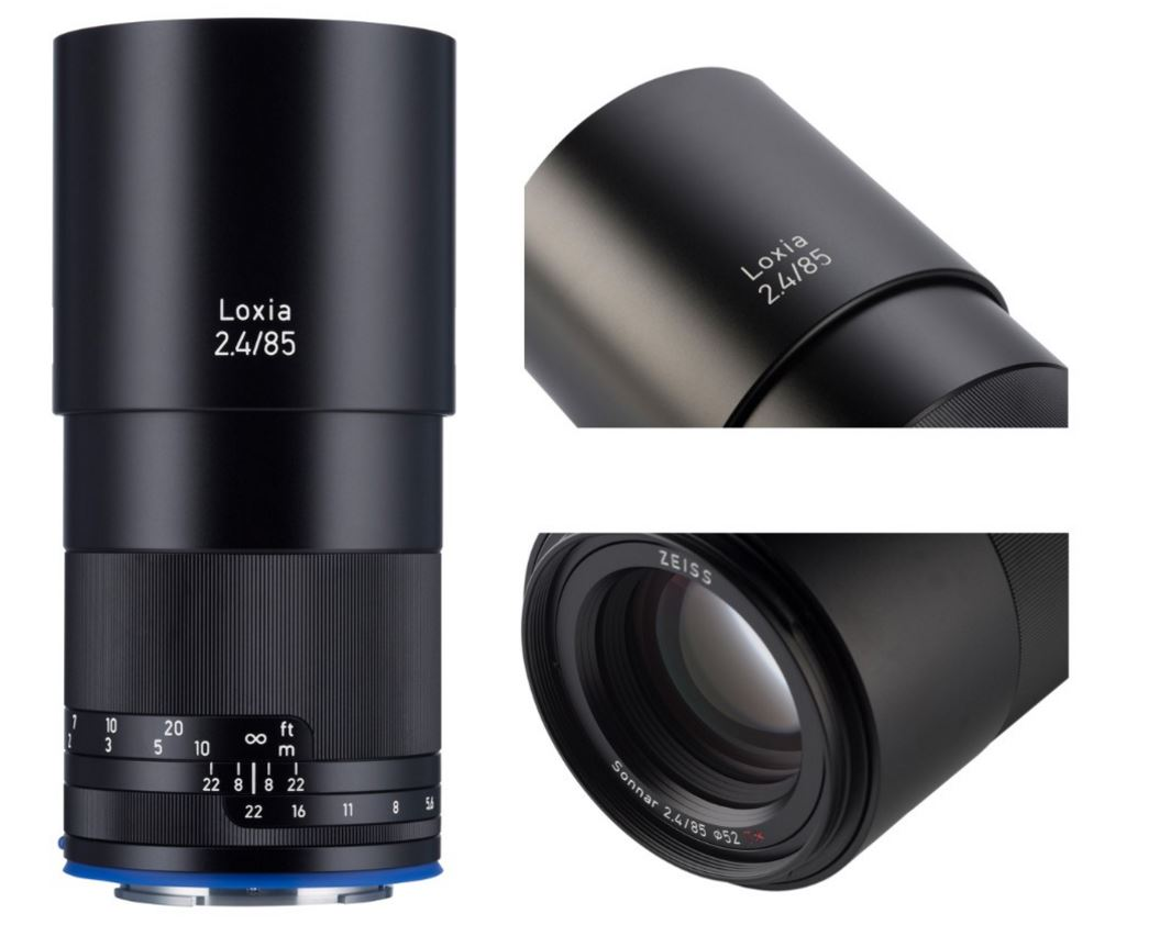 Zeiss introduces Loxia 2.4/85 for mirrorless Sony full-frame cameras