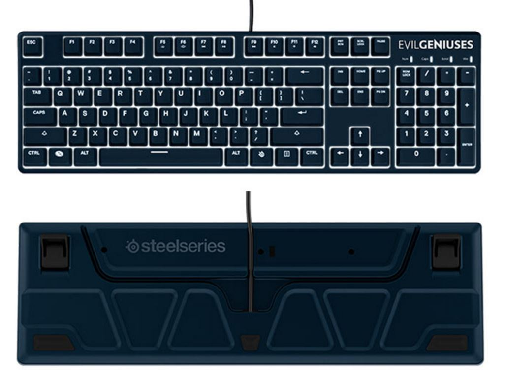 SteelSeries and Evil Geniuses team up for new gaming mouse, keyboard