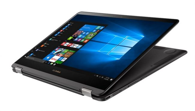 Asus shows off world's thinnest convertible, the ZenBook Flip S