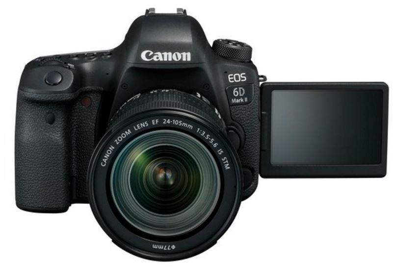 Canon EOS 6D Mark II made official, will go on sale next month