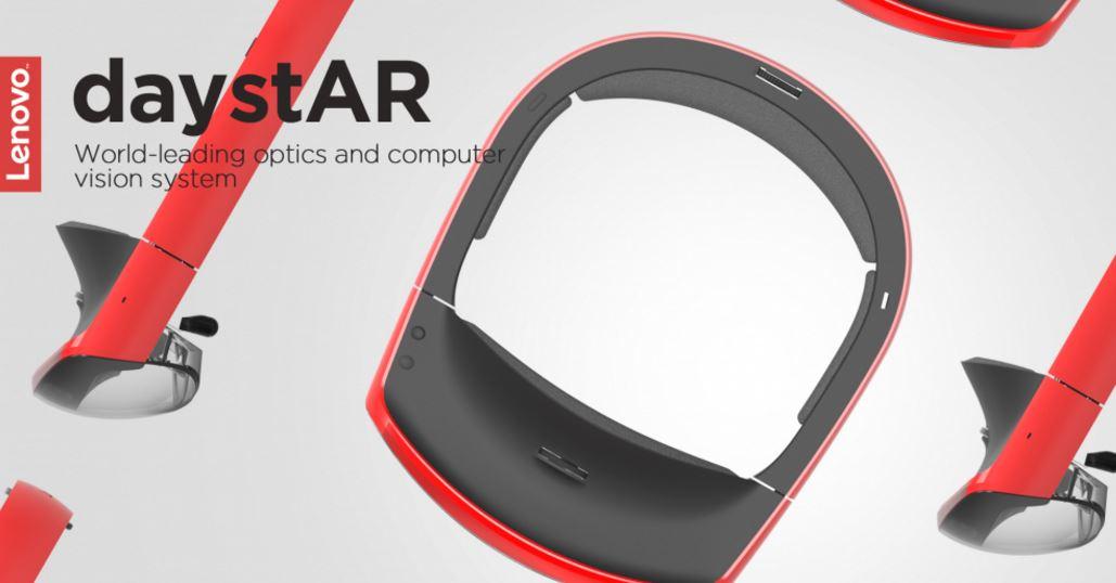 Lenovo reveals AR headset DaystAR, smart speaker-projector and smart vest
