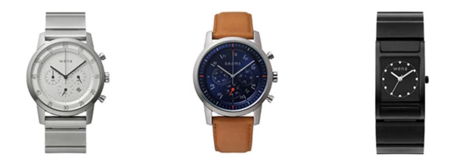 Sony updates Wena Wrist smartwatch with option for a leather strap