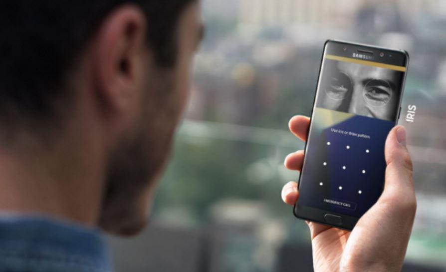 Samsung Galaxy S9 will have an improved 3MP Iris Scanning camera sensor