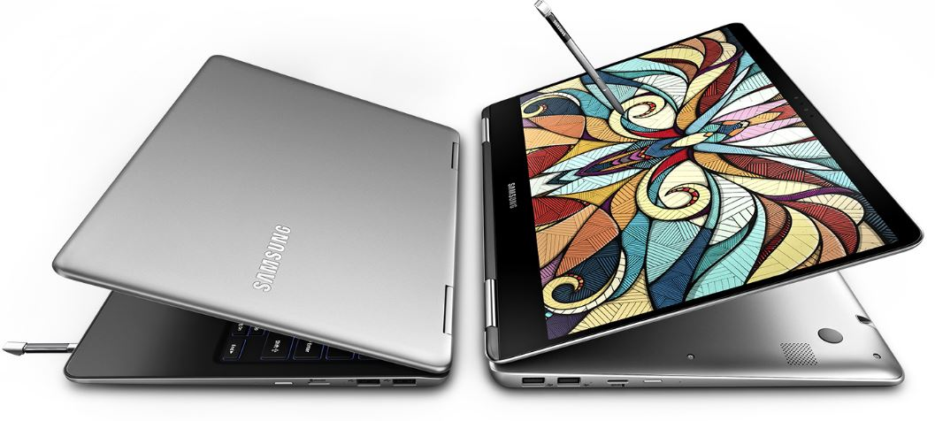 The Samsung NoteBook 9 Pen is a convertible laptop with S-Pen