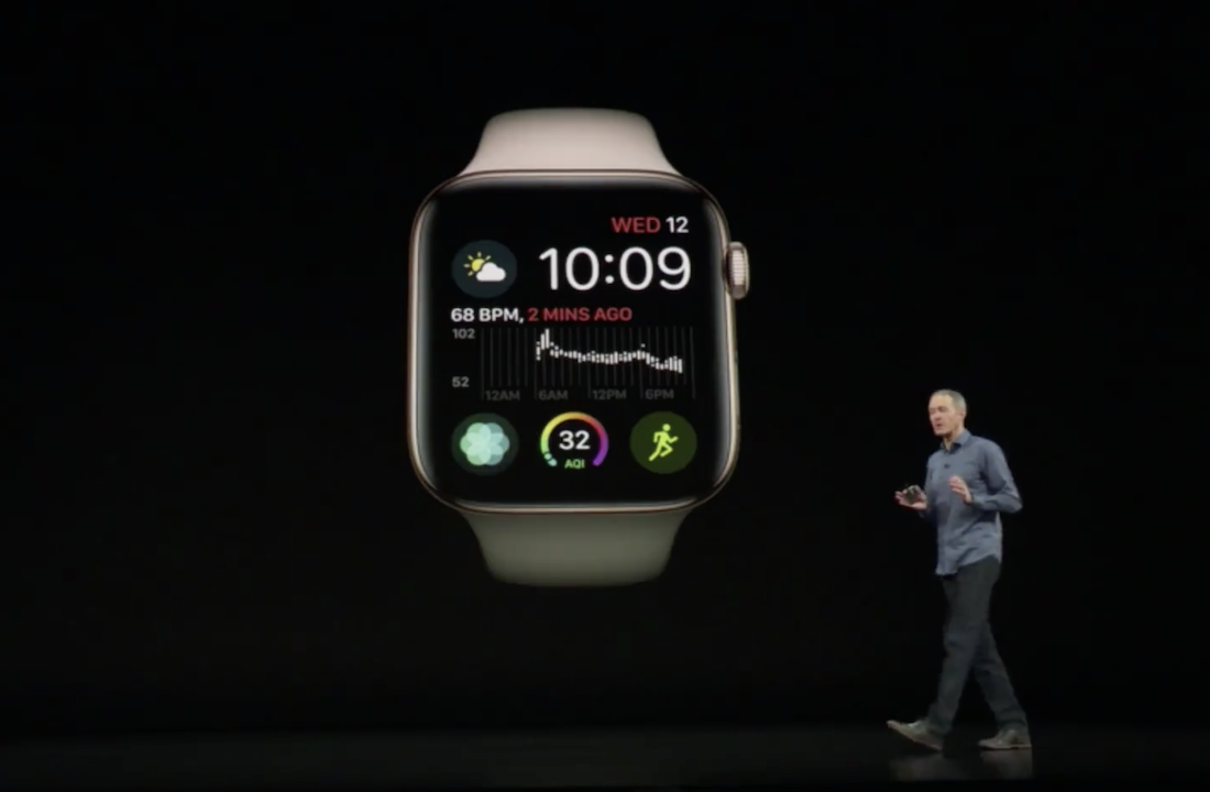 Apple Watch Series 4 Unveiled To The World