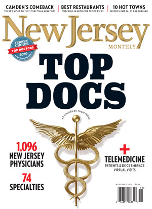 NJ Monthly Top Doctors Mag Cover 2020