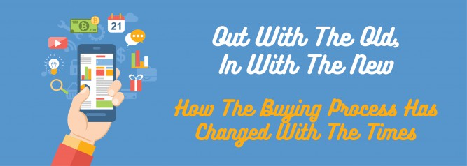 Out With The Old, In With The New How The Buying Process Has Changed With The Times