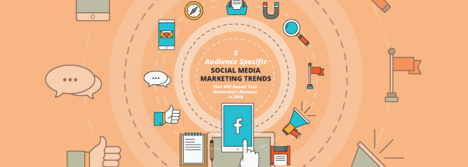 5 Audience Specific Social Media Marketing Trends That Will Impact Your Dealership's Business in 2016