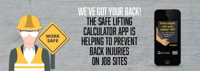 We've Got Your Back! The Safe Lifting Calculator App Is Helping To Prevent Back Injuries on Job Sites-01