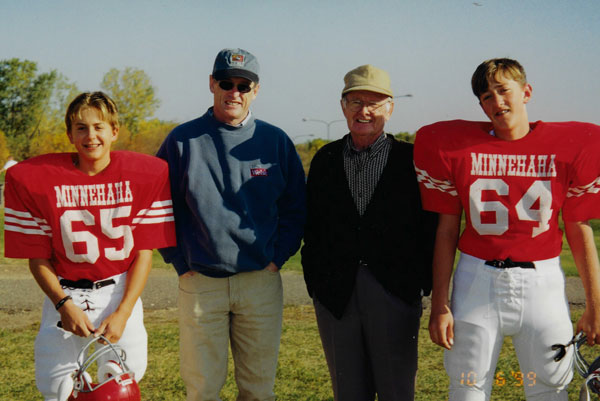 Nathan, Dennis, John, & Devin