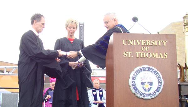 STU Honorary Doctorate
