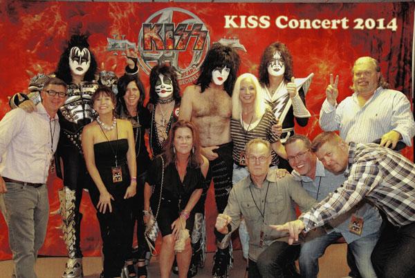 MATTER Event 2014 featuring KISS