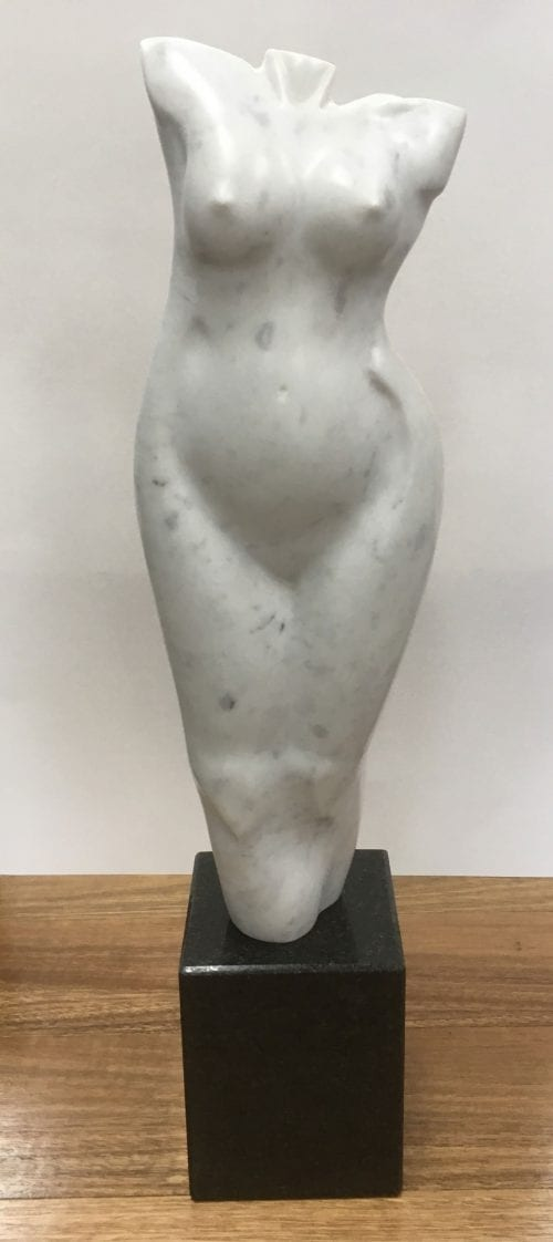 Zygmunt Libucha sculptor at Manly Harbour Gallery