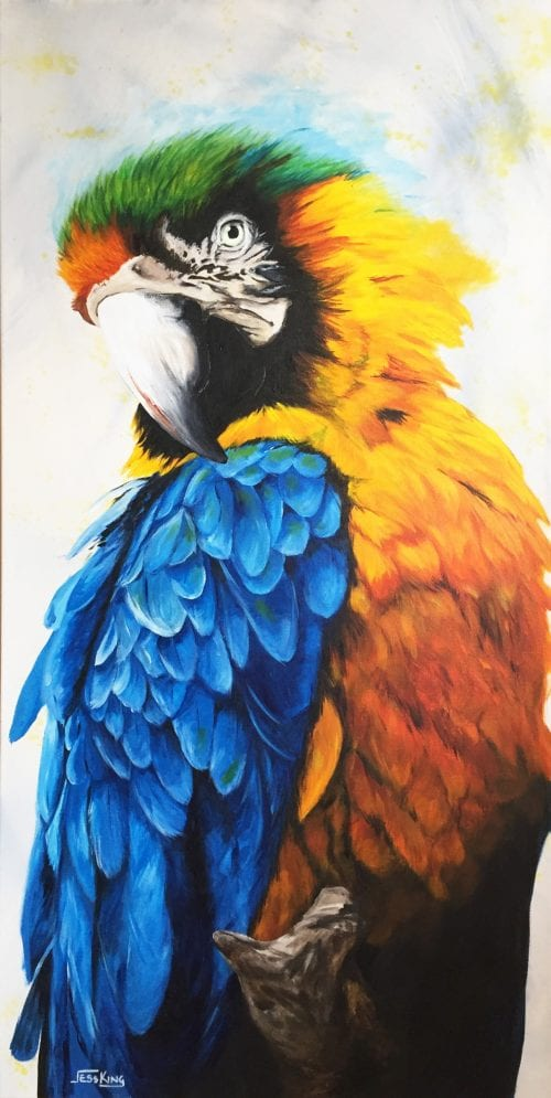 Pretty Polly by Jess king Manly Harbour Gallery