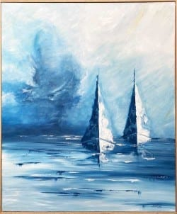 Drifting by Jess King at Manly Harbour Gallery