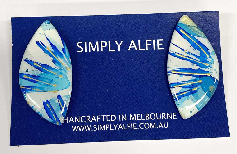 Simply Alfie Earrings for sale at Manly Harbour Gallery