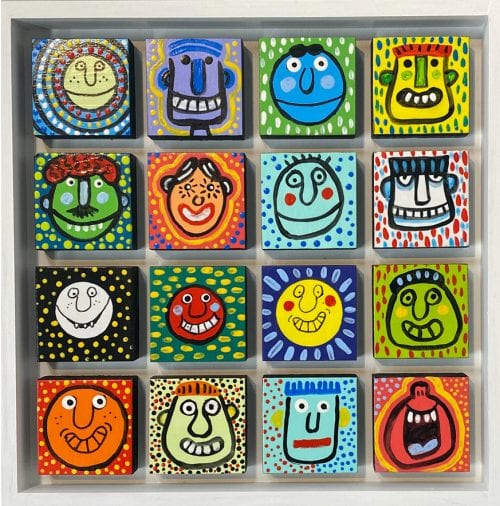 Faces by piperdog $175
