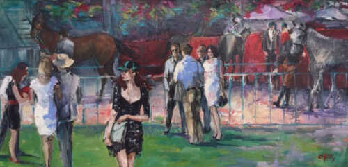 Tatts Day Races by Christine Reilly