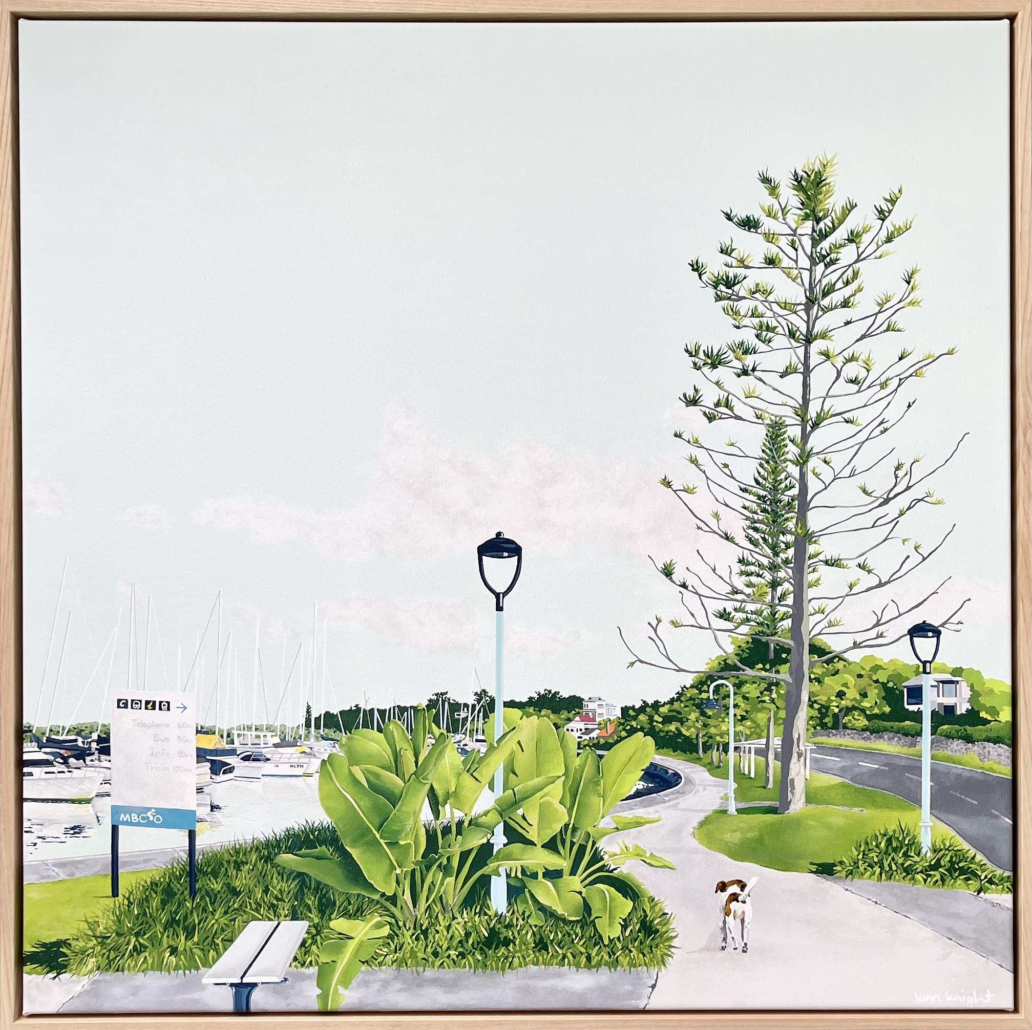Kim Knight at Manly Harbour Gallery