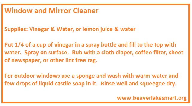 Window and Mirror Cleaner