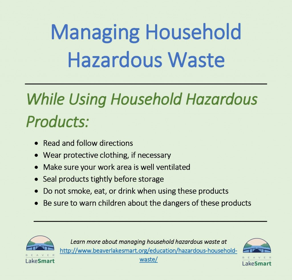 When using household products (2)