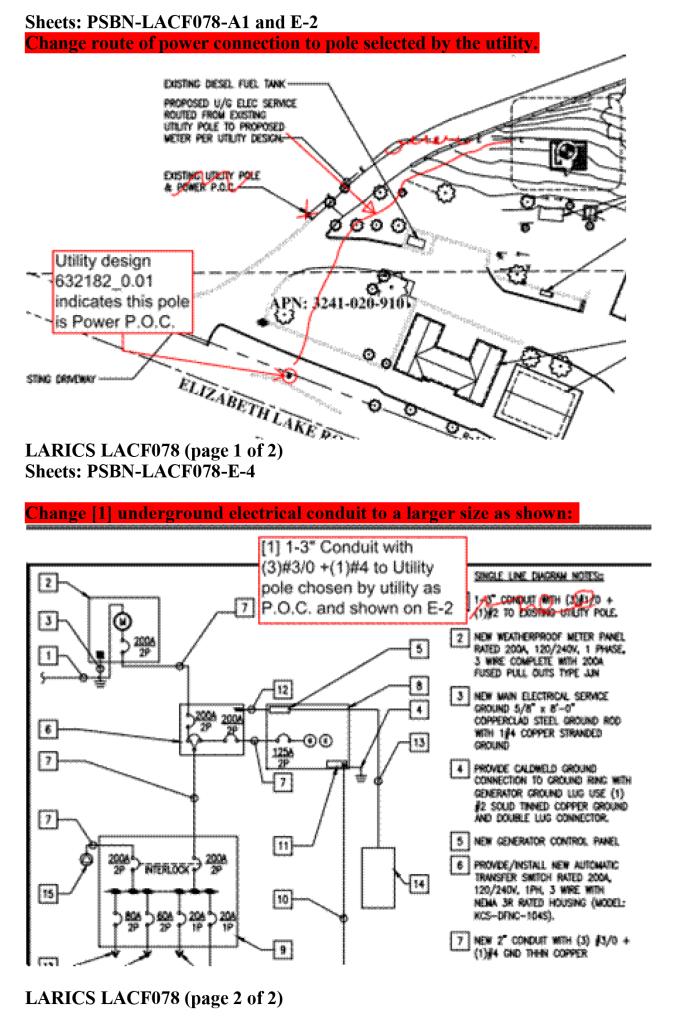 LACF078 Utility plan integration