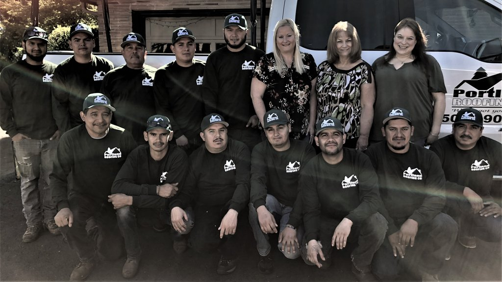 Portland Roofing Company Team