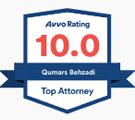 avvo 10 rating | Las Vegas Personal Injury Lawyer | Behzadi Law Offices