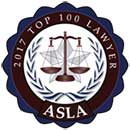 Asla Top Badge | Las Vegas Personal Injury Lawyer | Behzadi Law Offices