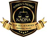 Naopia badge | Las Vegas Personal Injury Lawyer | Behzadi Law Offices