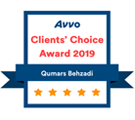 AVVO Clients Choice | Las Vegas Personal Injury Lawyer | Behzadi Law Offices