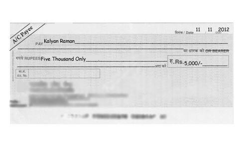 5 important points related to your cheque - How to filling out a cheque