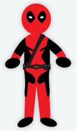 DIY Halloween Costume - Deadpool