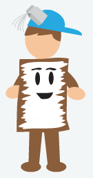 Frosted Mini Wheat Costume, Halloween Costumes