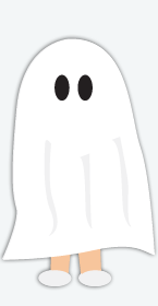 Ghost Costume, Halloween Costumes
