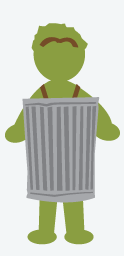 Oscar The Grouch Costume, Halloween Costumes