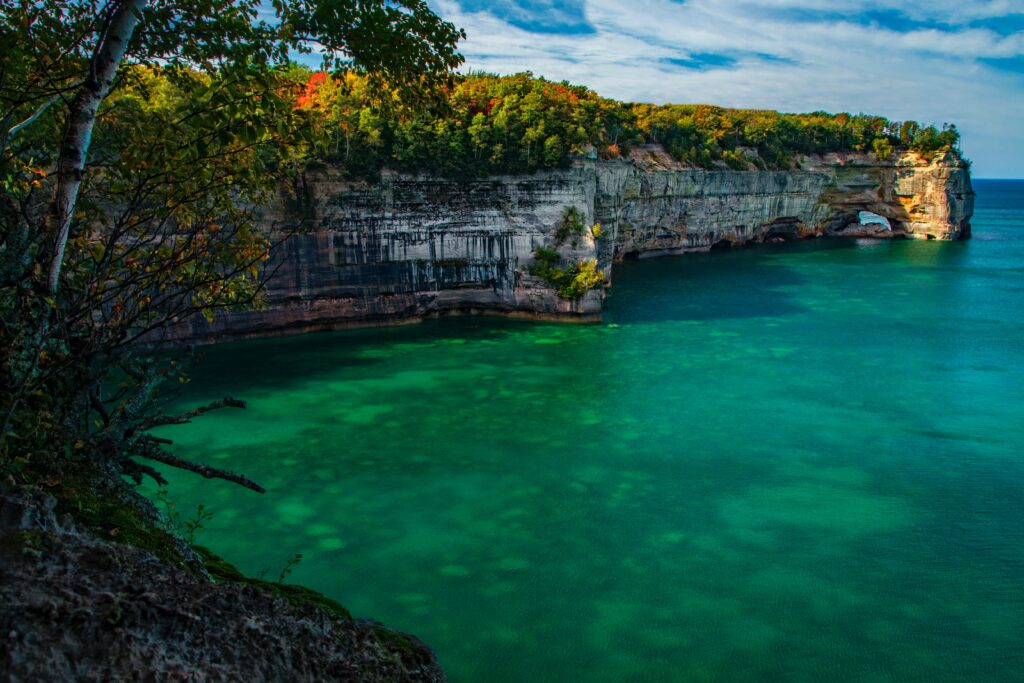 The Pictured Rocks National Lakeshore