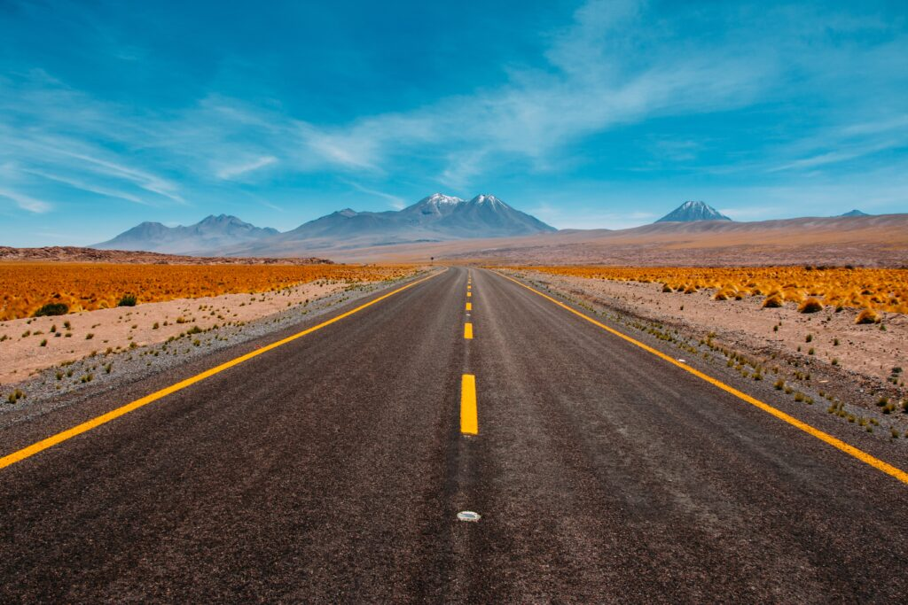 Desert on Route 50
